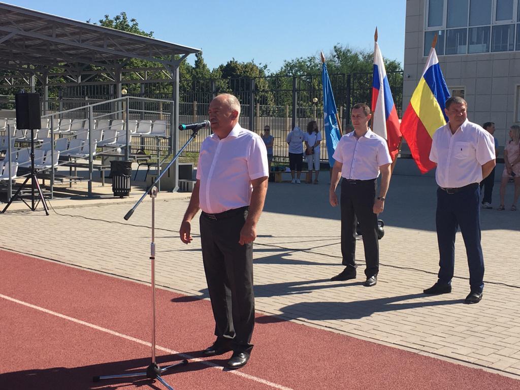 25 июля на стадионе МАУ г. Азова «СК им.Э.П. Лакомова» состоялось торжественное открытие муниципального этапа Спартакиады Дона – 2020